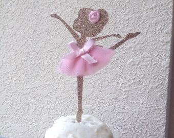 Ballerina Cupcake Toppers, Dancer Cupcake Toppers, Glitter Tutu Cupcake Toppers, dancer picks, ballerina picks, tutu cute party