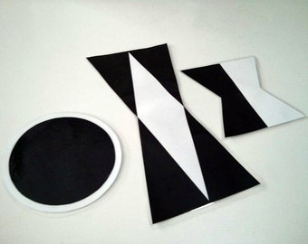 Montessori Munari Mobile DIY – Digital Printable Template for 50-80mm spheres (4 sizes in one file)