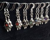 Chakra Healing Hamsa Earrings