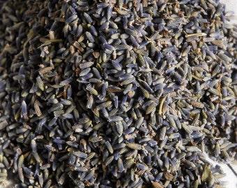 Bulk Lavender Buds, Premium Grade Lavender, Lavender Flowers (bulk 1/2 quart bag)