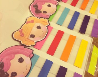 Lalaloopsy inspired favor bags