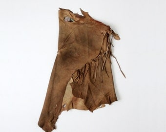 vintage Native American top,  buckskin Indian clothing