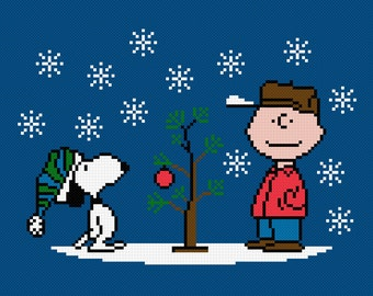 A Charlie Brown Christmas - Digital PDF Cross Stitch Pattern