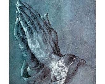 Durer - Praying Hands fine art print in choice of sizes
