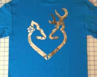 Browning Heart shirt