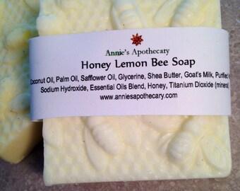 Honey Lemon Beeswax soap