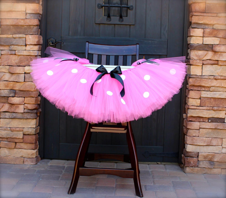 Minnie Mouse High Chair Tutu Pink Minnie Mouse Tutu Minnie