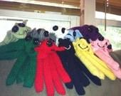 Hand Made Knit Ocophant (Elopus) GISHWHES 2014 Mascot