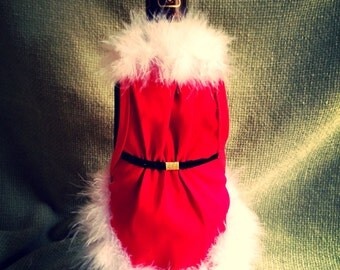 Santa's Wine Apron