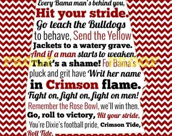 Songs of Alabama - University of Alabama Athletics