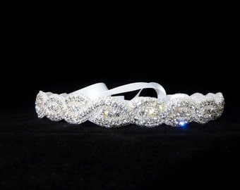 Wedding braid headband