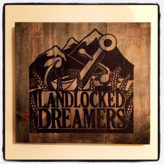 Landlocked dreamers...