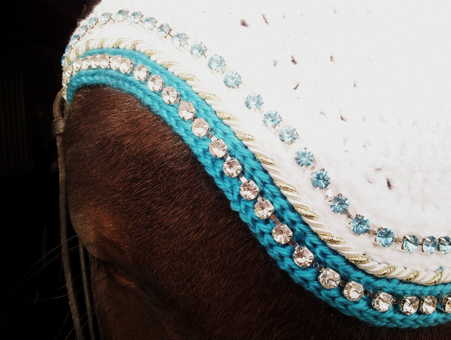 Free Crochet Horse Fly Mask Pattern : Crochet Horse Fly Bonnet Pattern images