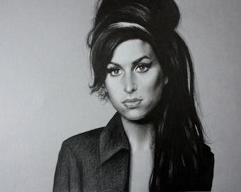 Amy Winehouse Drawing