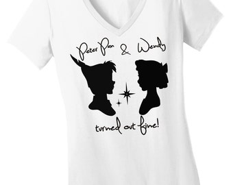 Peter Pan and Wendy Turned Out Fine Tshirt