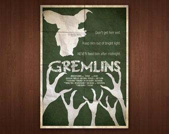 Gremlins Poster (Multiple Sizes)