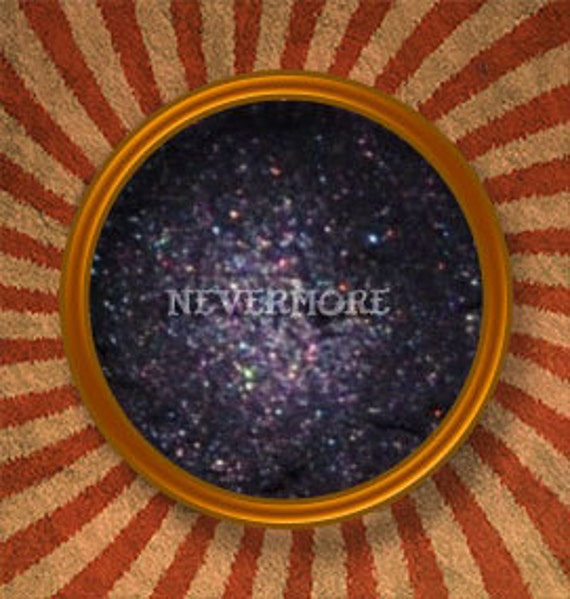 Nevermore Gothic Mineral Eye Shadow-Handmade in the USA