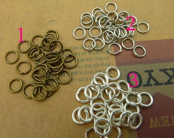 75 grams 5mm Jump Rings the chain accessories  Jewelry findings wholesale