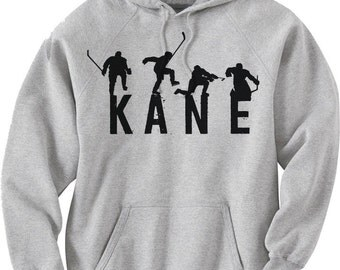 Patrick Kane Officially Licensed NHLPA Chicago Hoodies S-3XL Kane Celebrate K