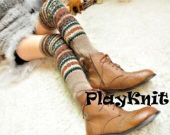 Leg Warmers Women Boot Socks