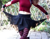 Teenage Riot - Festival Skirt  Fairy Pixie Skirt Burning Man Skirt