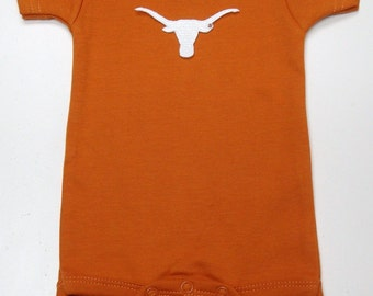 Texas Longhorns Team Spirit Baby Bodysuit