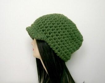 CROCHET HAT PATTERN, Crochet Hat, Womens Hat Pattern, Crochet Pattern, Womens Hat, Instant Download - The Kendra Hat