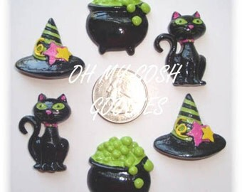 3 Piece Set  WITCHES BREW RESINS - Oh My Gosh Goodies