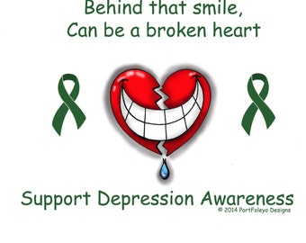 Depression Awareness Etsy