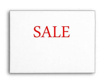 Sale Text Rubber Stamp, Custom Rubber Stamp, Wood Handle or Self Inking