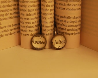 Shakespeare Romeo and Juliet Earrings