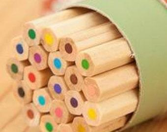 18 Coloured  Pencils (Set B)