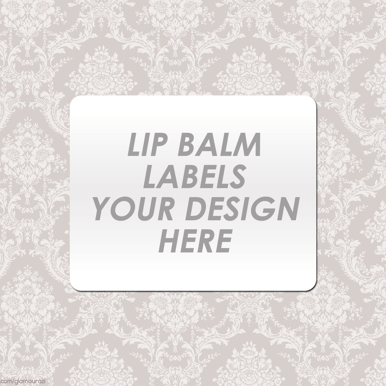 Your custom lip balm labels by limprime on etsy for Chapstick label design