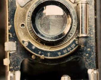 Kodak Camera  Photography Photographer  Vintage Antique  Rustic Shabby Chic Home Decor Wall Art Fine Art Photography