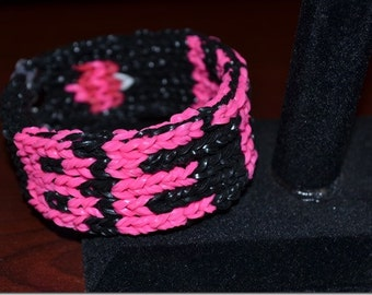 Custom Loom Band Stretchy Bracelet With Your Name