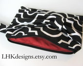 black and white bridesmaids bow clutch small wallet purse handbag