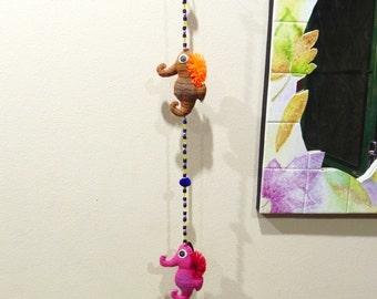 Seahorse Doll Beaded Curtain