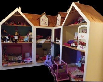 "American Girl Doll House, Doll House for 18"" doll, free shipping 28734 & surrounding areas"