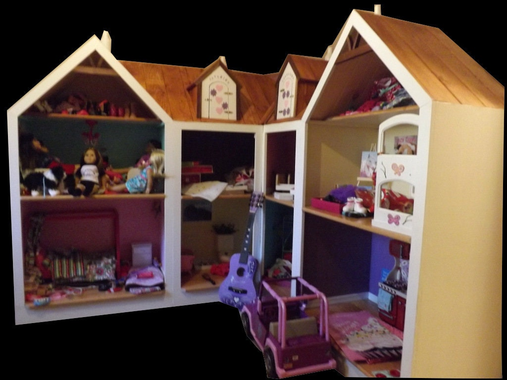 American girl doll house doll house for 18 doll free for Generation house