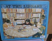 1960's At the Library Children's Book Story - Public Library Pictures  Elementary Grade School - Santa Ana CA - Vintage