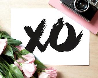 XO. | 8x10 Print