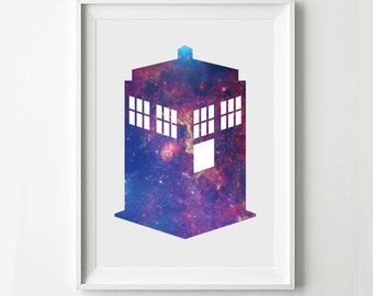 Doctor Who Poster Ninth, Tenth, Eleventh, Twelfth Doctors - Minimalist Print, Digital Art Print, TV Poster