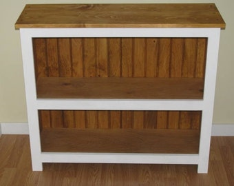 Bookcase- Book Storage-Rustic Bookcase-Stained Bookcase- Painted Bookcase