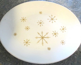 Vintage Platter, Atomic Starglow by Royal China