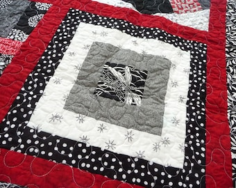 SALE - Mod sample lap quilt
