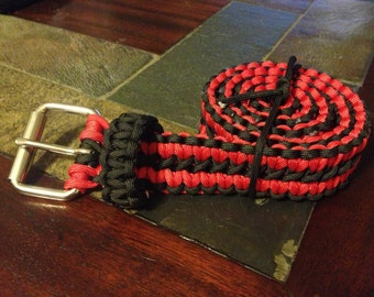 550 Paracord Belt for men, women or children
