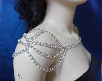 Necklace, Shoulder Chain, shoulder jewelry, Body Chain