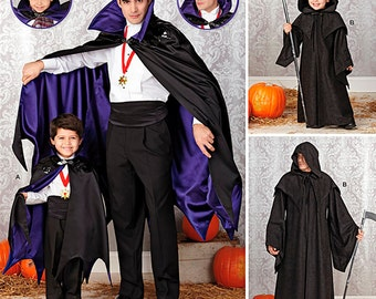 Simplicity Sewing Pattern 1349 Boys' and Men's Capes
