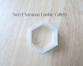 Hexagon Cookie Cutters- Different Sizes Available