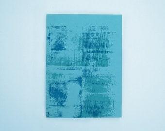 Letterpress Notebook, Distressed Texture